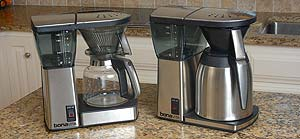 Glass Carafe And Thermal Carafe